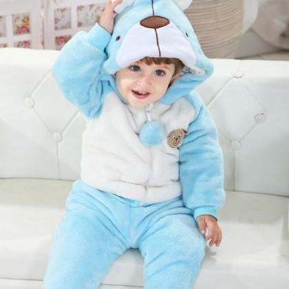Cute Beer Winter Type Animal Baby H..