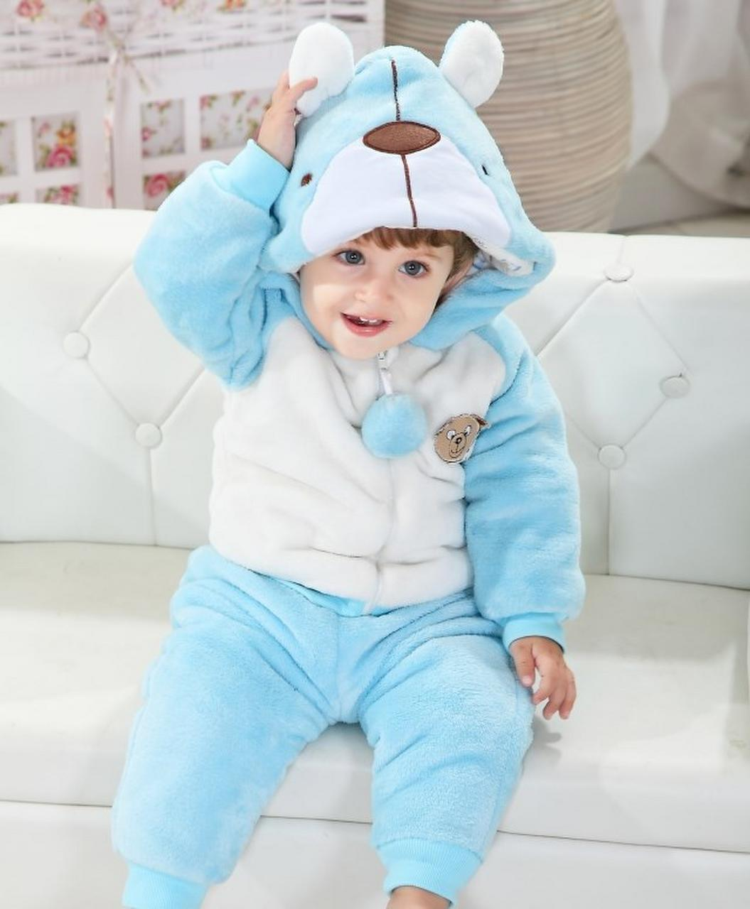 Cute Beer Winter Type Animal Baby Hooded Unisex Playsuits Romper Toddlers jumpsuit,Christmas Baby,funny baby onesies,cute baby onesie,1st Birthday Owl Bodysuit